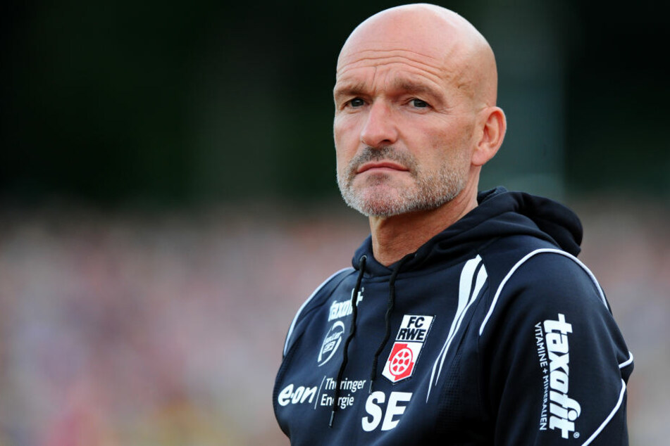 Stefan Emmerling steht nicht mehr länger als Trainer auf dem Platz.
