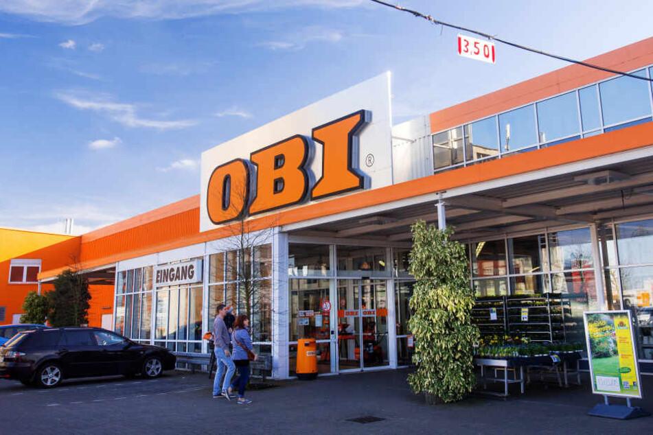 In mehreren OBI-Märkte in Sachsen und Sachsen-Anhalt wird am Mittwoch gestreikt.