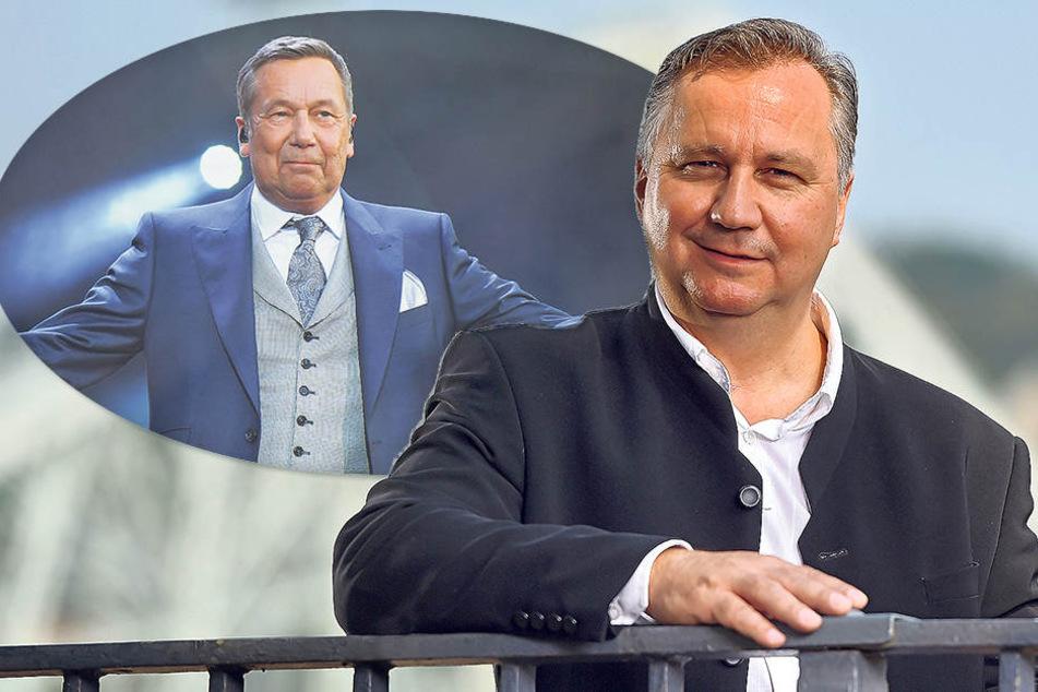 Der Dresdner Steffen Heidrich (49) arbeitet erfolgreich als Roland-Kaiser-Double. Doch irgendwann einmal möchte er eine eigene Single veröffentlichen.