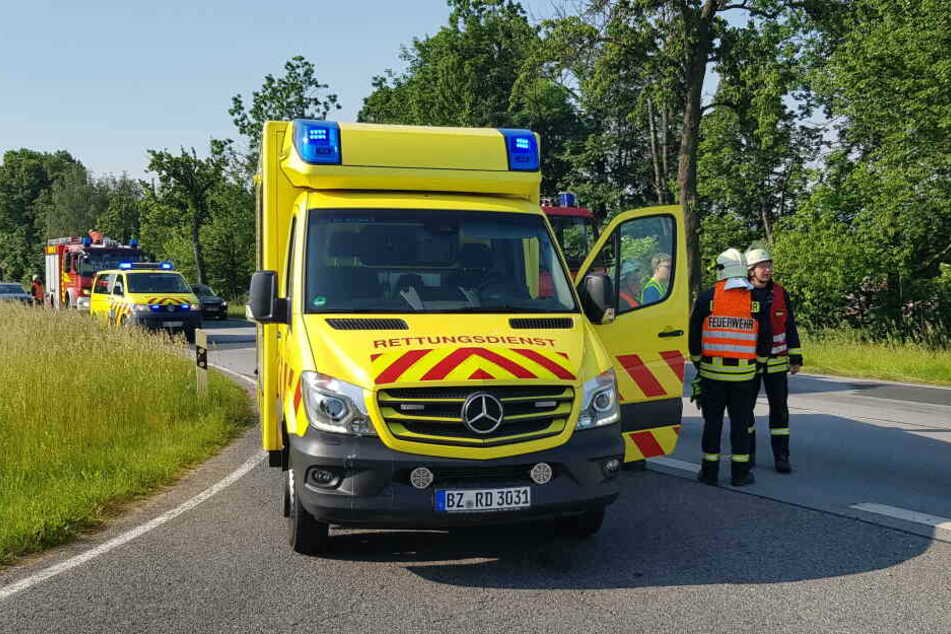 Feuerwehr und Rettungskräfte waren vor Ort.