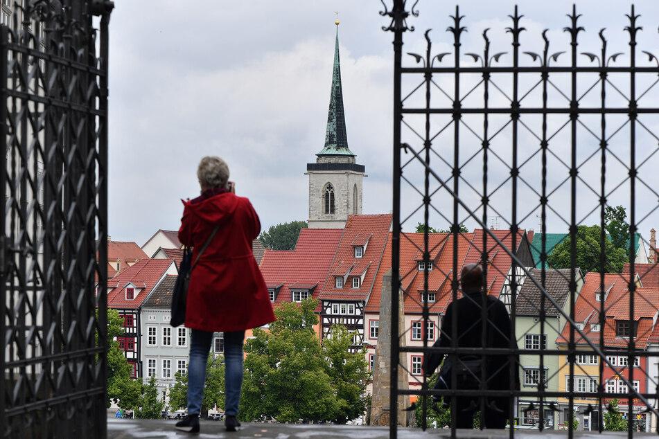 Abstand halten heißt es noch eine ganze Weile im thüringischen Erfurt.