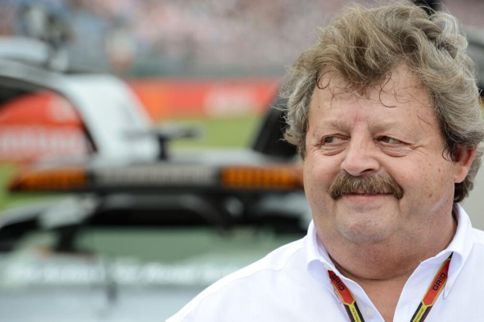 Georg Seiler mahnt einen Bonus für Rennen mit langer Geschichte an - wie am Hockenheimring. (Archivbild)