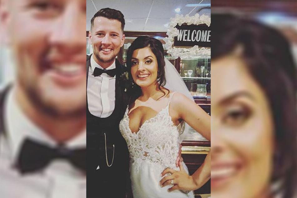Für dieses Brautpaar sollte es der schönste Tag im Leben werden.