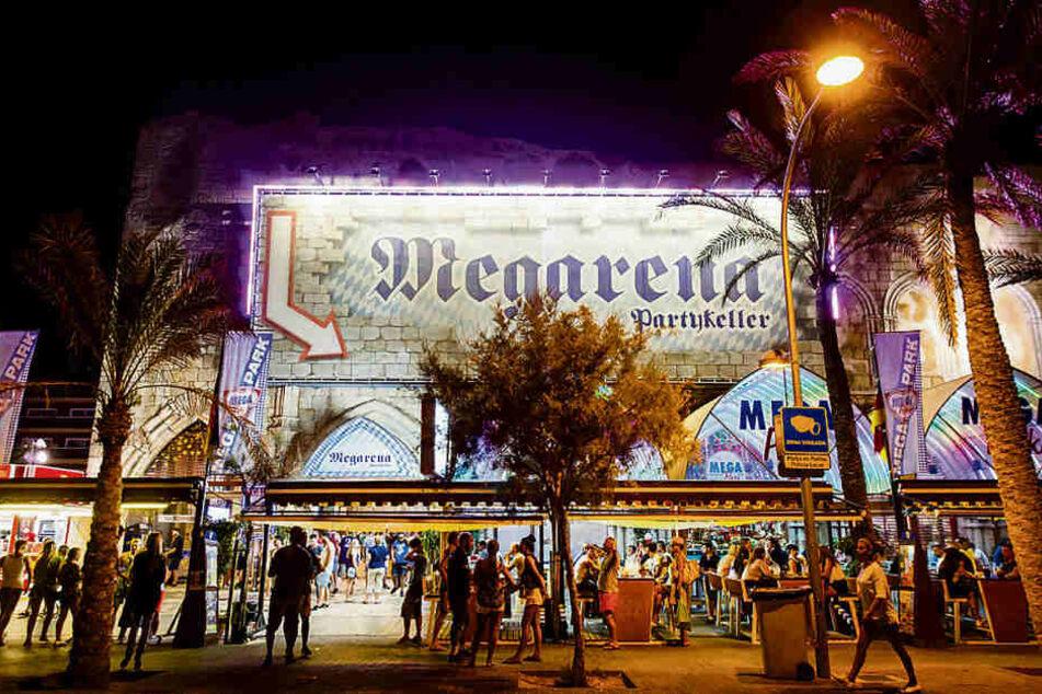 """In der Großraumdisko """"Megapark"""" kam es zu dem brutalen Übergriff auf einen Senegalesen."""
