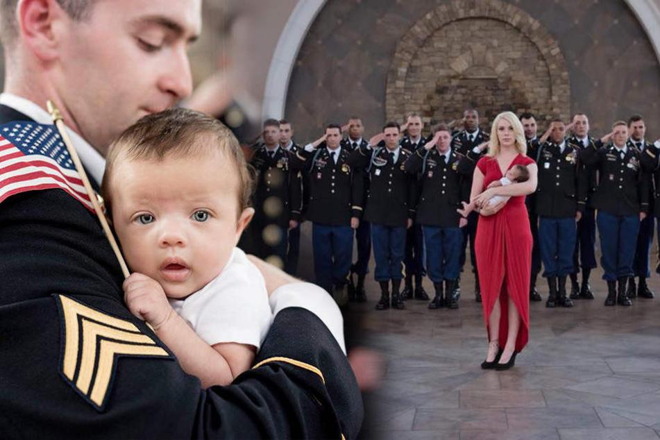 Soldat stirbt im Einsatz, seine Kameraden zeigen rührende Geste