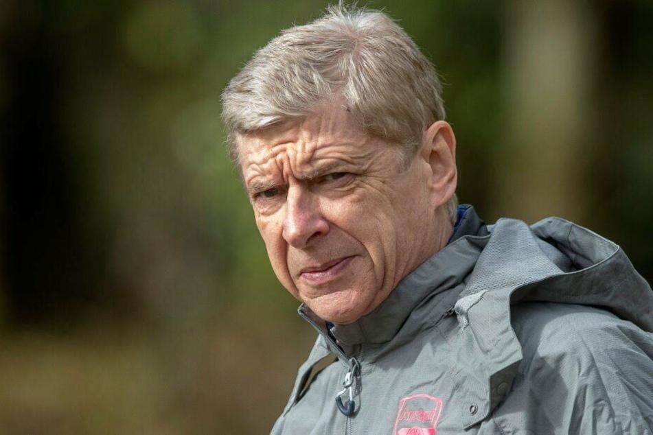 Arsène Wenger bleibt allem Anschein nach weiter im Rennen als neuer Bayern-Trainer. (Archiv)