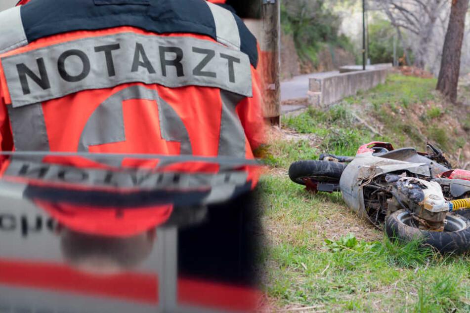 Schock! Betrunkener Mofa-Fahrer rast in Fußgänger