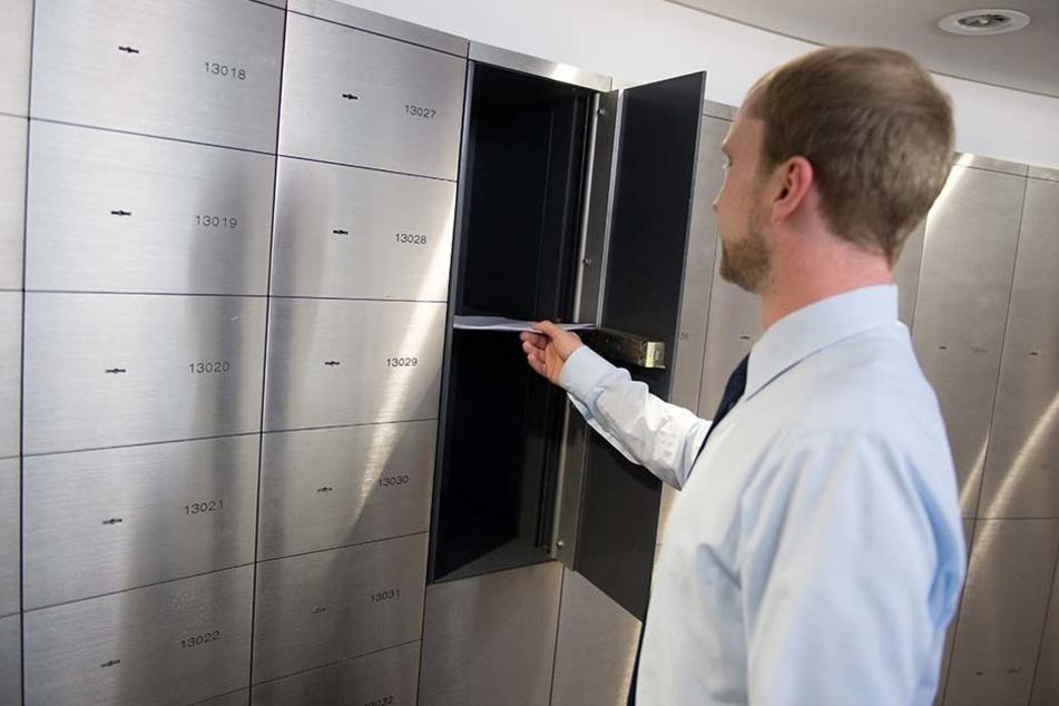 Schließfächer in Banken werden immer beliebter.