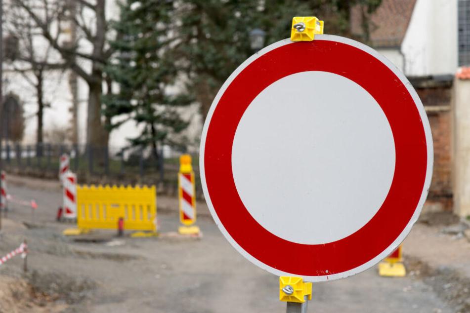 Baustellen in Chemnitz: Hier gibt es neue Sperrungen
