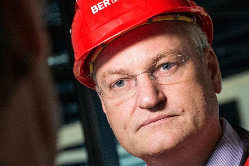 Der Bauleiter Jörg Marks musste nach zweieinhalb Jahren seine Hut nehmen.