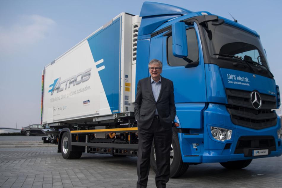 Brennstoffzellen: Daimler Trucks bündelt alles in neuer Firma