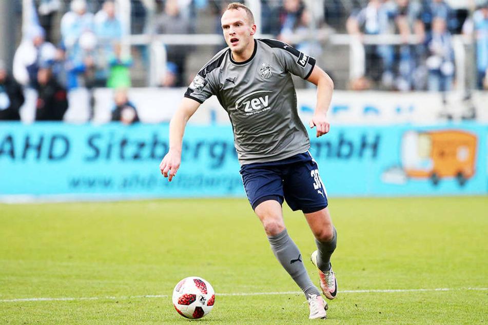 Julius Reinhardt war enttäuscht von der Leistung seines FSV.