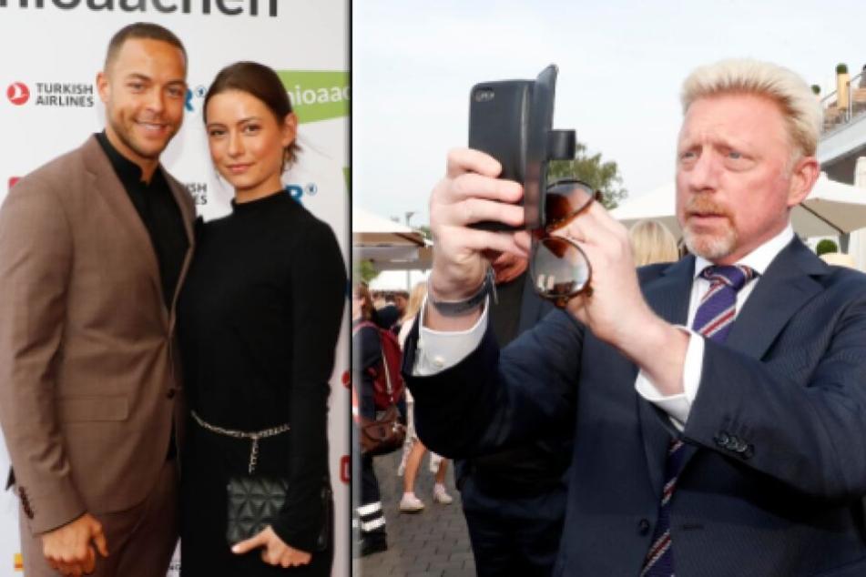 Bachelor Andrej Mangold und seine Jenny Lange waren ebenso in Aachen wie Boris Becker.