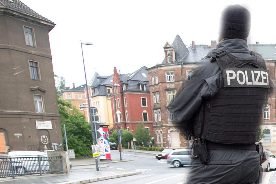 In Dresden-Plauen belästigte ein Mann zwei kleine Kinder.