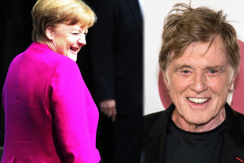 Robert Redford: Liebeserklärung an Deutschland und… Angela Merkel!