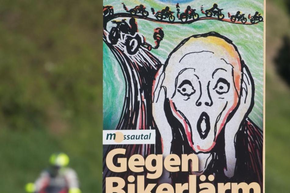 "Das Plakat erinnerte an Edvard Munchs Gemälde ""Der Schrei""."