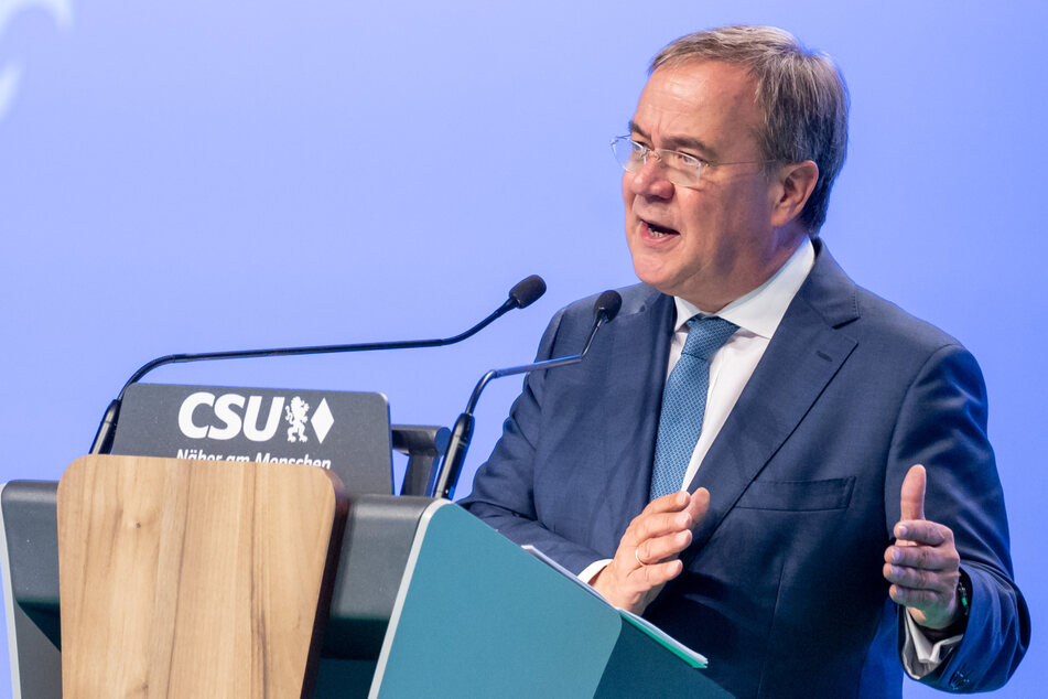Zeigt sich zunehmend angriffslustig: CDU-Kanzlerkandidat Laschet (60).