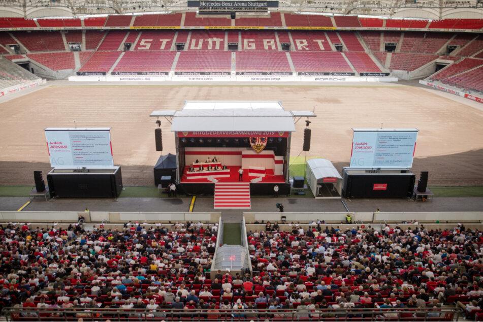 Mitgliederversammlung des VfB Stuttgart in der Mercedes-Benz Arena 2019.