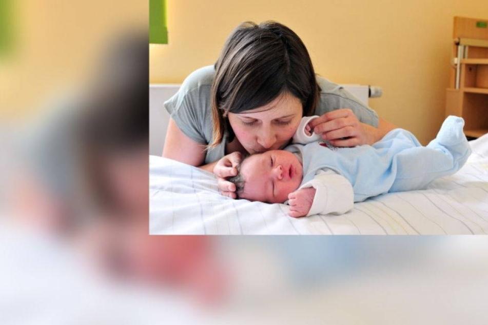 Baby Fritz Horst stürmte ins neue Jahr