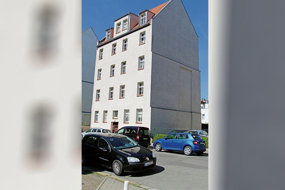 In diesem Haus im Leipziger Stadtteil Gohlis soll es zu dem antisemitischen Vorfall gekommen sein.
