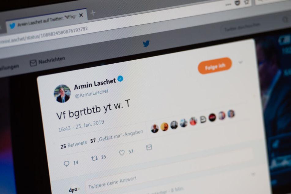 Der Twitter-Unfall des NRW-Ministerpräsidenten Armin Laschet (NRW).