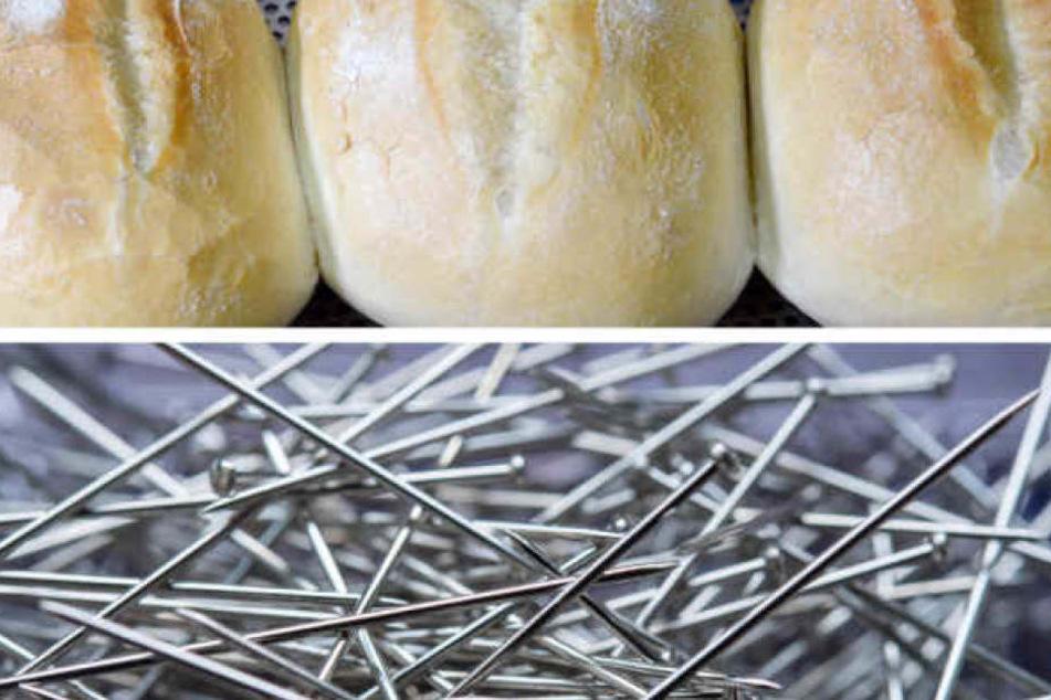 Müssen nun auch Supermarkt-Besucher aus Frankreich fürchten, eine Nadel im Essen zu finden? (Symbolbild)