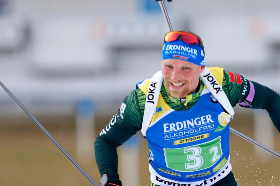 Erik Lesser reiste am Samstag wegen der Geburt seiner Tochter aus Oberhof ab.