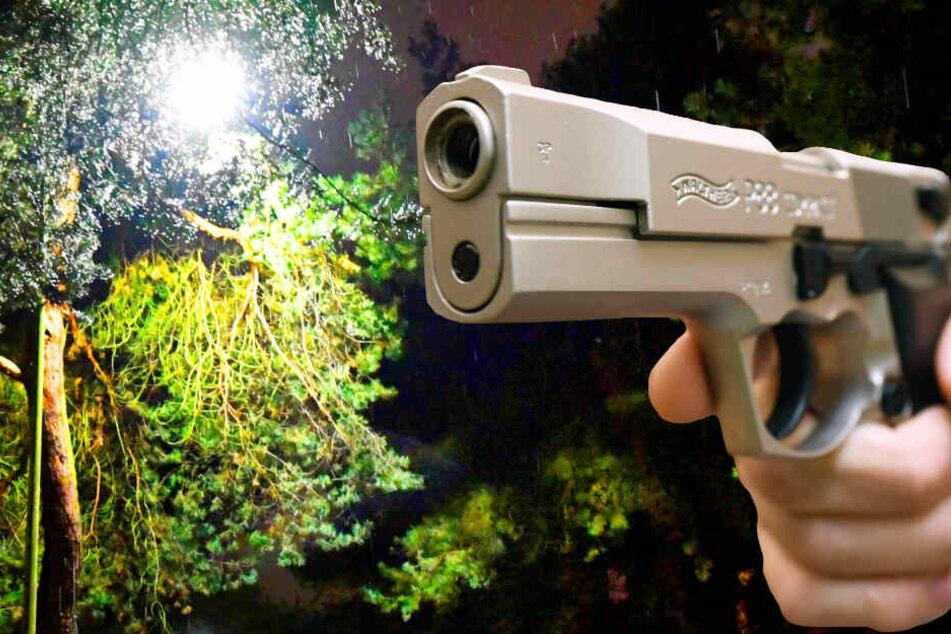 Die Schüsse im Ahnepark in Vellmar fielen am Montagabend gegen 22.45 Uhr (Symbolbild).