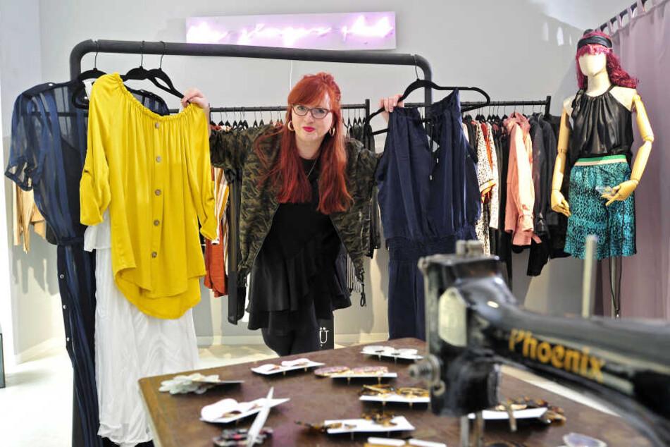 Ladenbesitzerin Daniela Anis (30) hält nichts von Massenware, setzt stattdessen auf individuelle Mode.