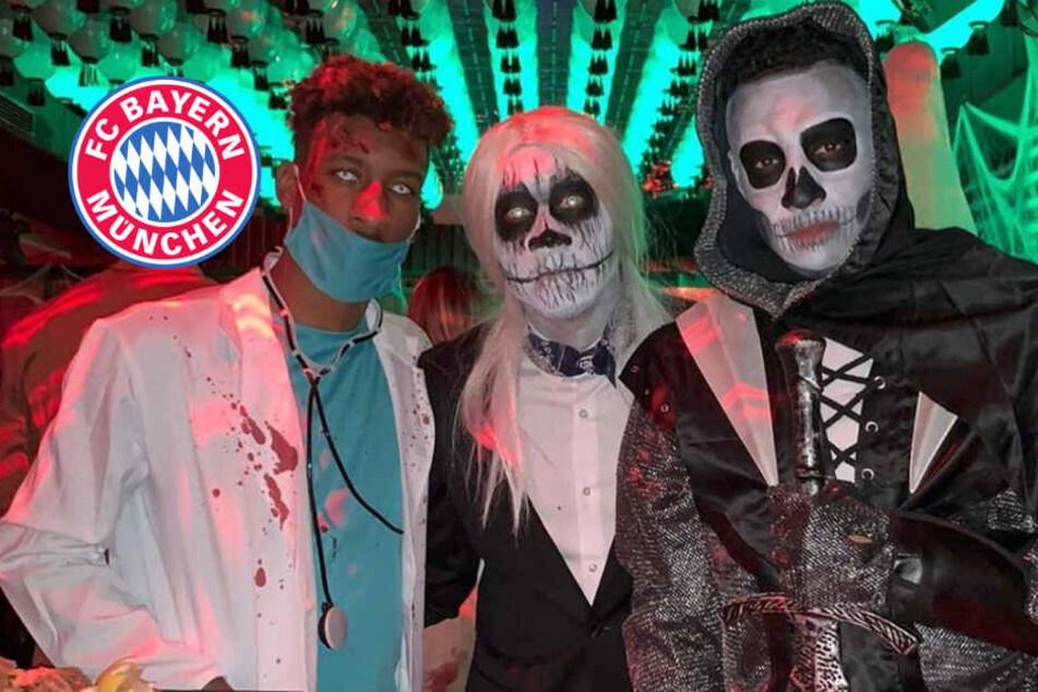 Halloween-Sause beim FC Bayern: Wer steckt hinter diesen Grusel-Outfits?