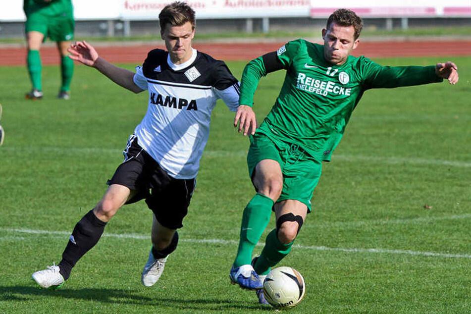 Avdyl Haliti spielte auch schon beim VfB Fichte in Bielefeld.