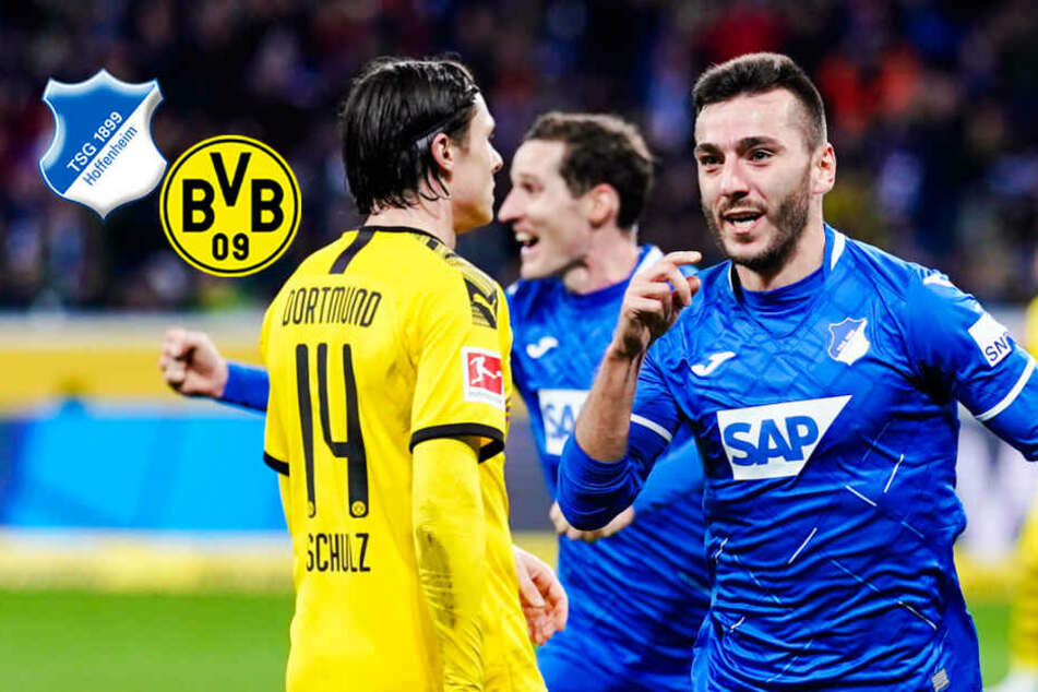 BVB gibt völlig unnötig Führung aus der Hand und verliert in Hoffenheim!