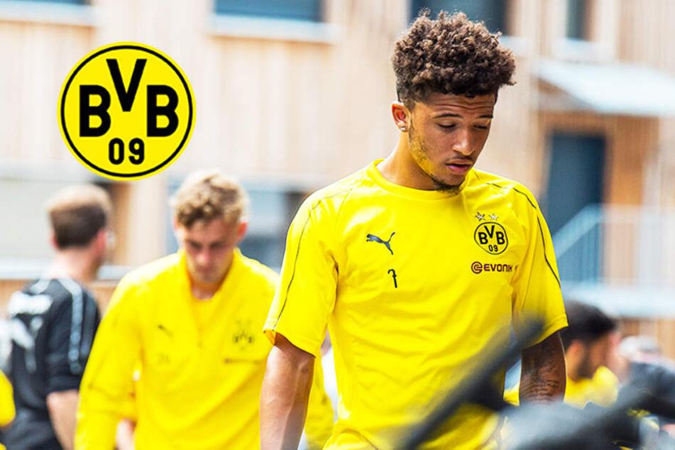 BVB-Youngster muss diese Mega-Strafe zahlen! Wie geht's jetzt weiter mit Sancho?
