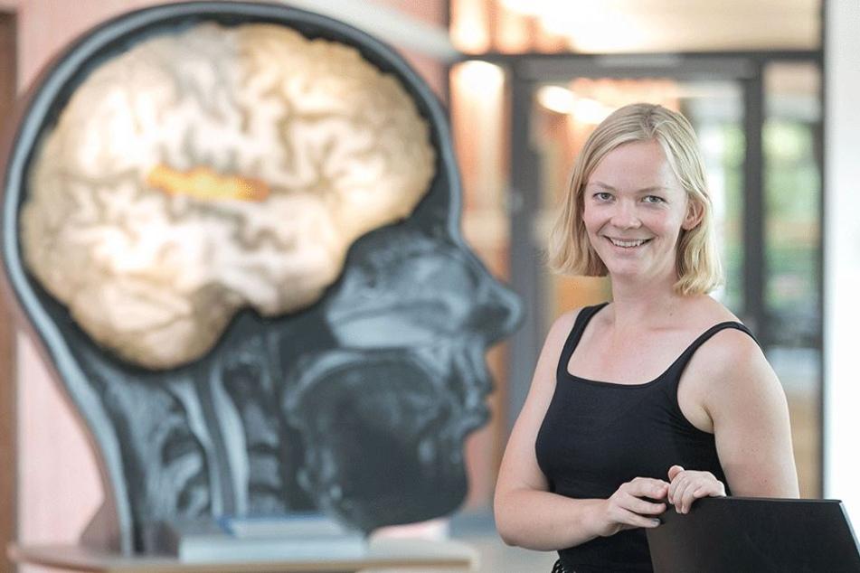 Erforscht Leistungsschwächen des Gehirns: Doktorandin Claudia Roswandowitz  (30).