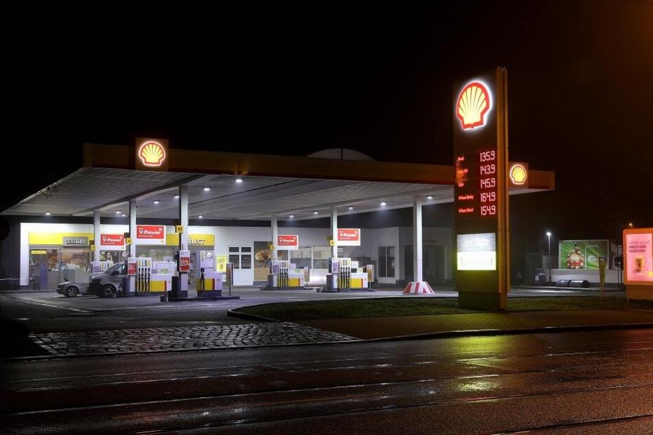 Dieses Mal wurde die Shell-Tankstelle an der Leipziger Straße überfallen.