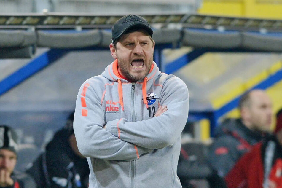 Cheftrainer Steffen Baumgart war mit dem Spiel ganz und gar nicht zufrieden.