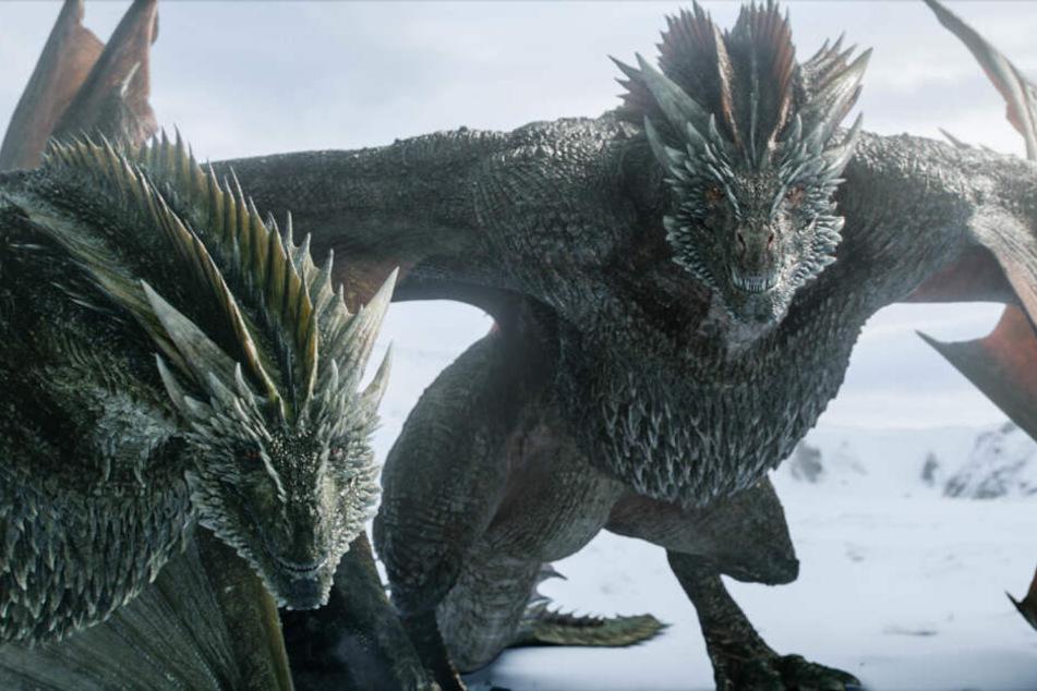 Die mächtigen Drachen spielen in der dritten Folge der achten Staffel eine entscheidende Rolle.