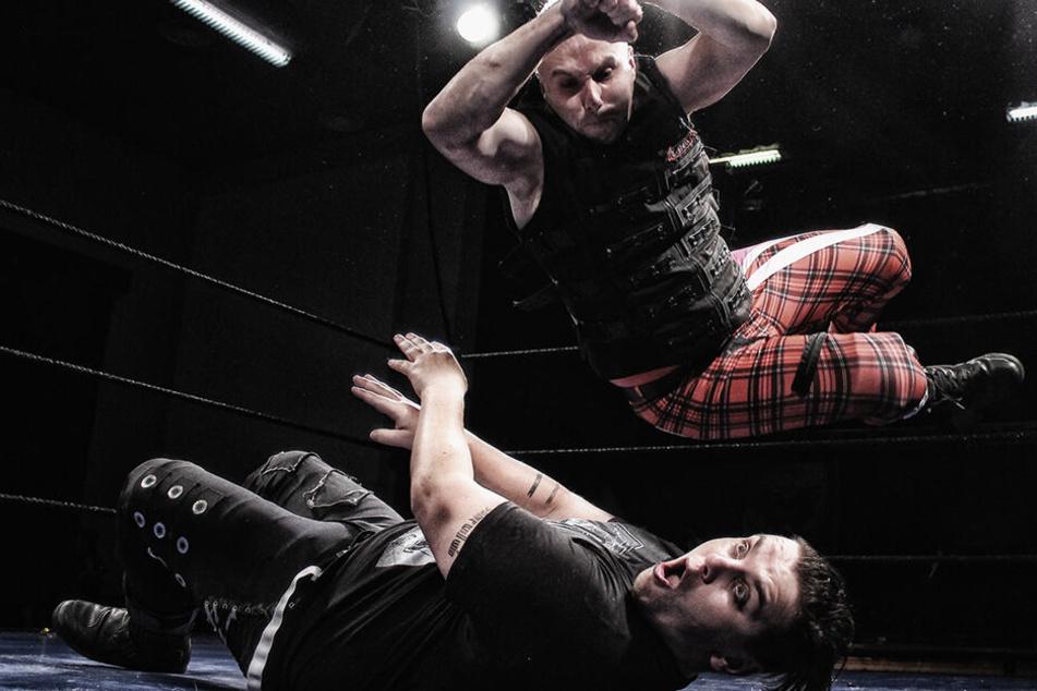 Wrestling erfordert höchste Konzentration: Was so brutal aussieht, ist einstudiert.