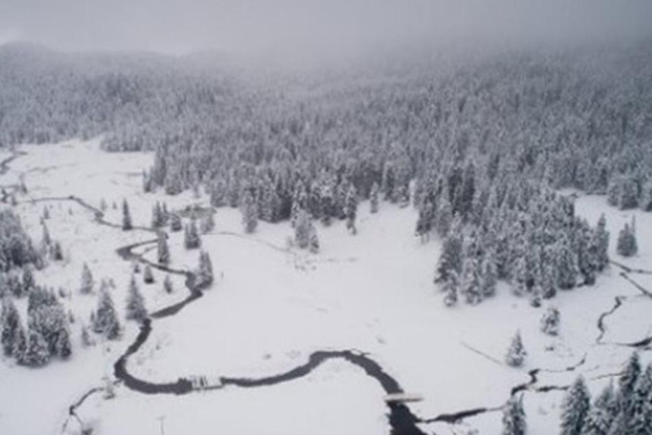 Die magische Winterlandschaft in Trikala.