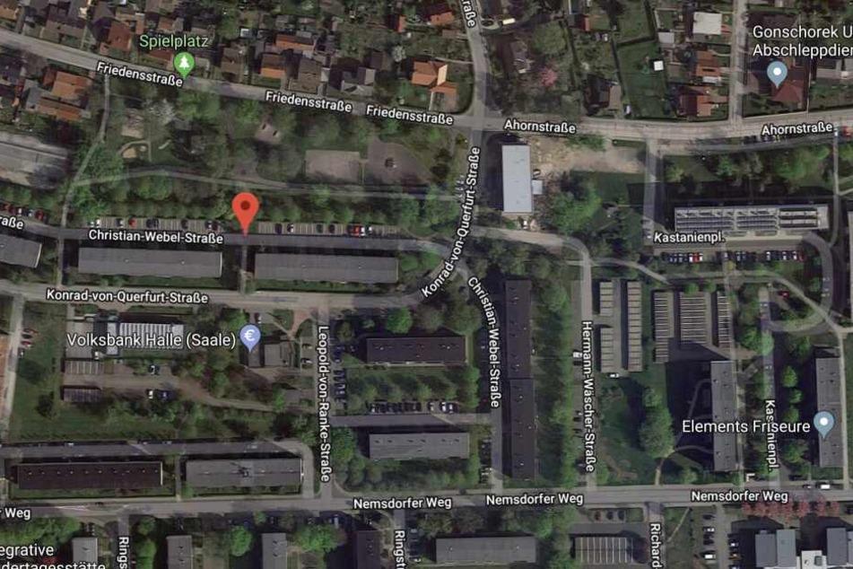 In der Christian-Webel-Straße wurde das zehnjährige Mädchen angegriffen.
