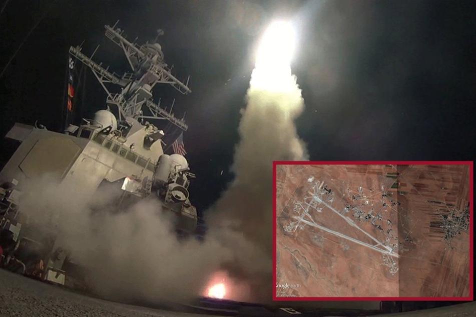 Vergeltung für Giftgas-Einsatz: USA greifen Syrien an