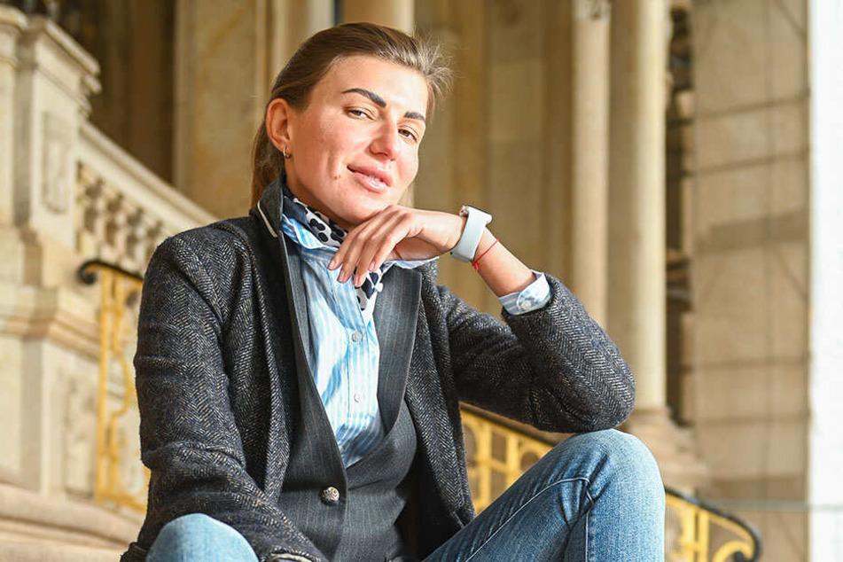 Privat trägt Alina Paul (31) am liebsten Jeans und eher zurückhaltend elegante Kleidung.