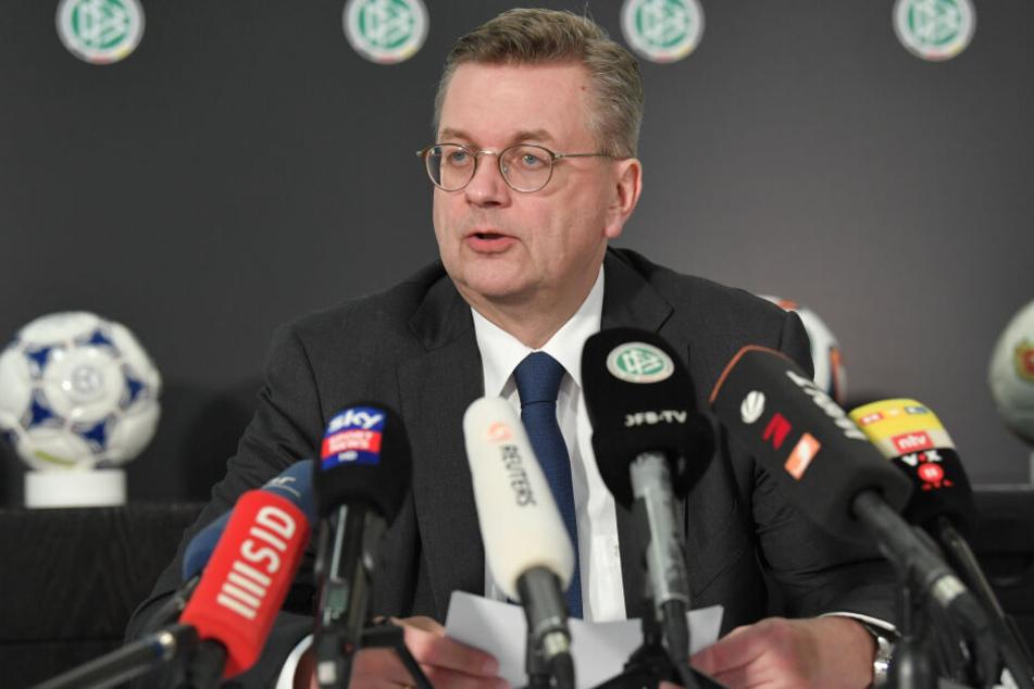 Reinhard Grindel ist nicht länger DFB-Präsident.