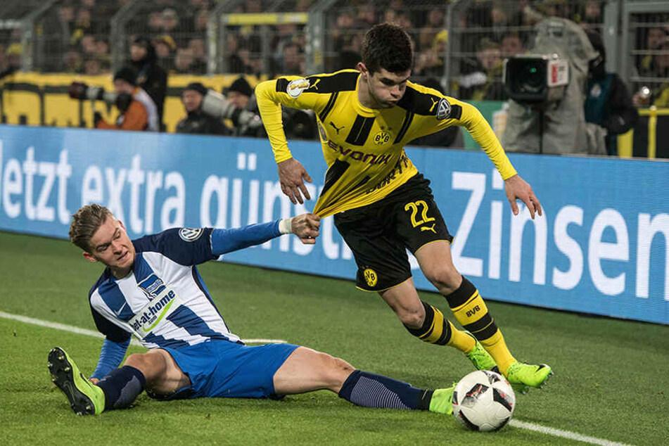In den letzten zwei Jahren ist Hertha im Halb- und Achtelfinale an Borussia Dortmund gescheitert.