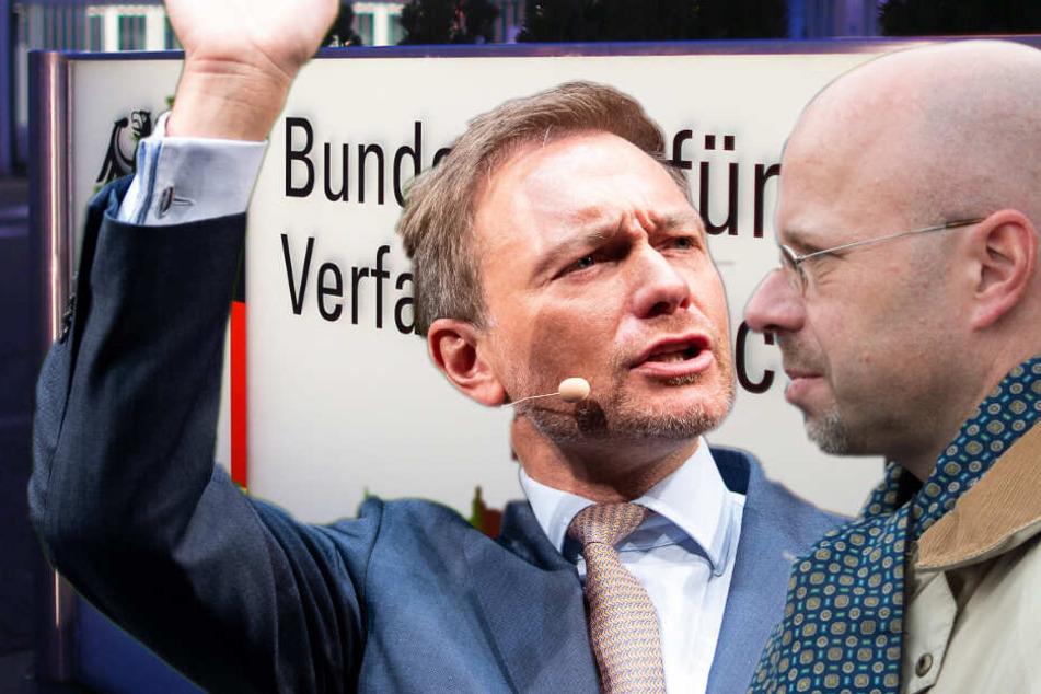 Prüffall AfD: Kalbitz sieht politische Motive, Lindner mahnt Parteien zur Zurückhaltung