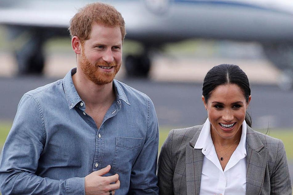 In freudiger Erwartung auf das Baby: Prinz Harry und Herzogin Meghan.