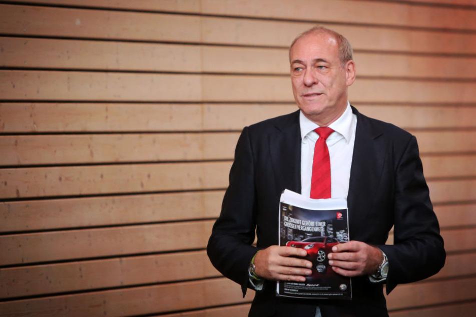 Peter Fischer ist seit 2000 im Amt als Präsident der Eintracht.