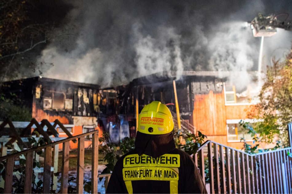 Das bislang letzte niedergebrannte Holzgebäude war eine Kita in Frankfurt-Dornbusch.