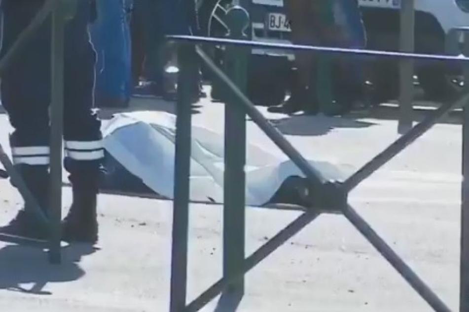 Schüsse am Flughafen! Ein Toter