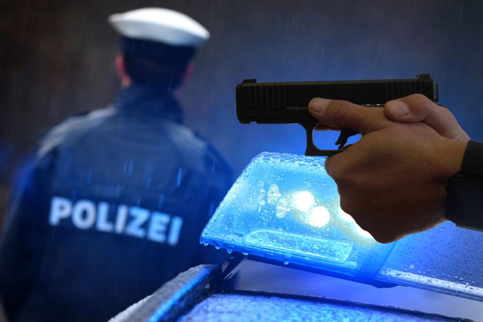 Mann schießt auf Polizisten: Toter in Wohnung gefunden